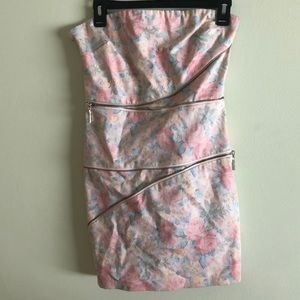 TOBI - Zipper Strapless Dress (M)